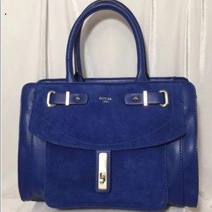 Guess cobalt blue Kingsley bag